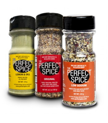 LEMON DILL, PERFECT SPICE ORIGINAL, PERFECT LOW SODIUM